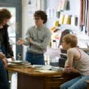Left to Right: Harvey (Sean Penn), Anne (Alison Pill), Cleve (Emile Hirsch) and Danny (Lucas Grabeel) in biography drama 'MILK'