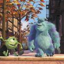 Mike Wazowski (Billy Crystal) and Sullivan (John Goodman) in Disney's Monsters, Inc. - 2001