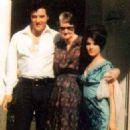Elvis, Minnie Mae & Priscilla Presley - 454 x 454
