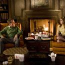 """TATE DONOVAN as Carson Drew and EMMA ROBERTS as Nancy Drew in Warner Bros. Pictures' and Virtual Studios' family mystery adventure """"Nancy Drew,"""" distributed by Warner Bros. Pictures."""