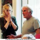 Cate Blanchett and Director Richard Eyre on the set of NOTES ON A SCANDAL. Photo Credit: Clive Coote