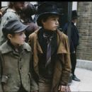 Barney Clark (left) on the set of Sony Pictures' drama, Oliver Twist - 2005