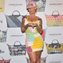 Amber Rose attends the Jeremy Scott for Longchamp 10th Anniversary held at a Private Residence  in Beverly Hills, California - November 5, 2015