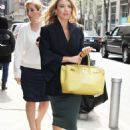 Natalie Zea at 'The Wendy Williams Show' in New York