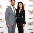 Adam Rodriguez and Grace Gail