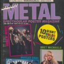 Bret Michaels, Vince Neil, Nikki Sixx, Mick Mars, Tommy Lee, Axl Rose, Slash, Izzy Stradlin, Duff McKagan, Steven Adler - Blast Metal Magazine Cover [United States] (June 1989)