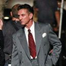 "Sean Penn is visited by his current girlfriend Shannon Costello on the set of ""Gangster Squad"" as he film scenes in Los Angeles"