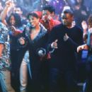 Kerry Washington as Chenille, Sean Patrick Thomas as Derek and Julia Stiles as Sara in Paramount's Save The Last Dance - 2001