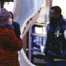Kerry Washington as Chenille and Sean Patrick Thomas as Derek in Paramount's Save The Last Dance - 2001