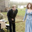 "Bill Pullman and Carmen Electra spoof ""The Village"" in David Zucker's Scary Movie 4."