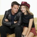 Matthew Perry and Elizabeth Hurley in Paramount's Serving Sara - 2002