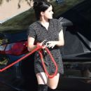 Ariel Winter – Rushes her dog to the animal hospital in Los Angeles