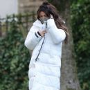 Michelle Keegan – on the set of 'Brassic' in Lancashire - 454 x 713