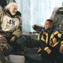 Cuba Gooding Jr. and James Coburn in Disney's Snow Dogs - 2002
