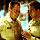 Left: Sam Shepard as Capt. George Cummings; Right: Josh Lucas as Lt. Ben Gannon.