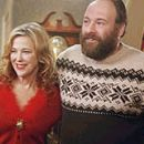 Catherine O'Hara and James Gadolfini in DreamWorks' Surviving Christmas, directed by Mike Mitchell.