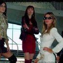 Ingrid Vandebosch, Ana Cristina De Oliveira, Gisele Bundchen and Magali Amadei in Taxi - 2004