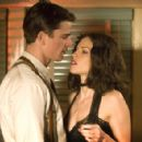 Josh Hartnett as Ofcr. Dwight 'Bucky' Bleichert with Hilary Swank as Madeleine Linscott in Brian De Palma movie, The Black Dahlia - 2006
