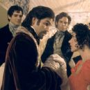 James Caviezel and Dagmara Dominczyk in Touchstone's The Count of Monte Cristo - 2002