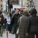 Audrey Tautou (Sophie Neveu) and Tom Hanks (Robert Langdon) in Columbia Pictures' suspense thriller The Da Vinci Code.