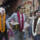 L-R: Owen Wilson, Adrien Brody and Jason Schwartzman in THE DARJEELING LIMITED. Photo Credit: James Hamilton