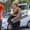 Ashley Tisdale: Yoga Class Cutie