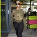 Amber Rose Arrives at Heathrow Airport in London, England  - April 21, 2015