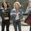 L to R: Abigail Bianca, Kelly Carlson and Robert Patrick in The Marine - 2006.
