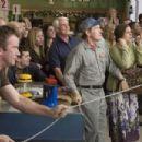 Thomas Jane (David Drayton), Bill Sadler (Jim Grondin) and Marcia Gay Harden (Mrs. Carmody) star in Frank Darabount's adaptation of Stephen King's THE MIST. Photo by Ralph Nelson, The Weinstein Company, 2007.