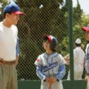 A scene from THE PERFECT GAME featuring (left to right) Cesar (Clifton Collins Jr.), Mario (Moises Arias) and Enrique (Jansen Panettiere). Photo credit: Vivian Zink. - 454 x 302