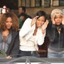 Rachel True, Jill Marie Jones, and Gabrielle Union In The Perfect Holiday, a Yari Film Group Release. ©2007 Yari Film Group Releasing.
