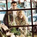 Ben - the perfect man (Chris Noth) and Holly Hamilton (Hilary Duff) spy into her mom's bakery shop.