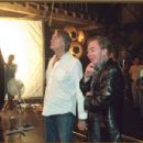 Joel Schumacher on the set of 'Andrew Lloyd Webber's The Phantom of the Opera,' distributed by Warner Bros. Pictures.