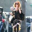 Isla Fisher Out and About In Beverly Hills