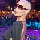 Amber Rose and Nick Cannon Party at Drais Nightclub in Las Vegas, Nevada - January 25, 2015