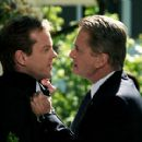 Kiefer Sutherland as David Breckinridge and Michael Douglas stars as Agent Pete Garrison in 20th Century Fox' crime movie The Sentinel - 2006