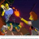 The Springfield townspeople are out for blood – Simpson blood – after Homer triggers a catastrophe that affects the entire populace. The Simpsons TM and © 2007 Twentieth Century Fox Film Corporation. All rights reserved.