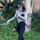 Kendall Jenner Leaving A Gym In Calabasas