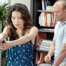 Shu Qi as Lai and Jason Statham as Frank Martin in 20th Century Fox's The Transporter - 2002