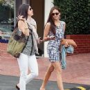 Nina Dobrev Goes Shopping And Gets Some Lunch In West Hollywood - 341 x 368