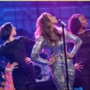 She dons a metallic dress  on The Tonight Show with Jay Leno on Friday (December 20 - 357 x 270