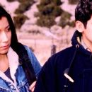 Judy Herrera as Dinora and Alexis Cruz as Marco in Tortilla Heaven.