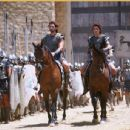 Eric Bana and Orlando Bloom in Wolfgang Petersen's Troy - 2004
