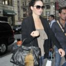 Kendall Jenner is spotted returning to her apartment in NYC