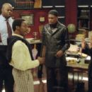 Neil Patrick Harris, Chi Mcbride, Dave Chappelle, Aunjanue Ellis and Eddie Griffin in Universal's Undercover Brother - 2002
