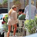 Sophie Monk out for lunch in Mallorca - 454 x 531