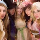 L to R: Emma Roberts, Sophie Wu, Kimberley Nixon, Linzey Cocker and Juno Temple in Wild Child. - 423 x 308