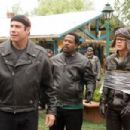 John Travolta, Martin Lawrence and William H. Macy in Wild Hogs - 2007