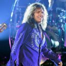 """David Coverdale of Whitesnake performs at The Joint inside the Hard Rock Hotel & Casino as the band tours in support of """"The Purple Album"""" on June 4, 2015 in Las Vegas, Nevada."""