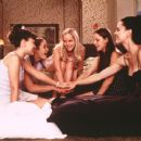 Sarah Marsh, Rachel Blanchard, Marley Shelton, Mena Suvari and Melissa George in New Line's Sugar and Spice - 2001